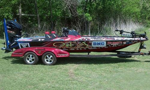 Tyler TX boat wraps