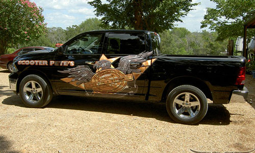 We Can Replace The Decals On Your RV Or Trailer Par Wraps - Custom truck decals vinyls