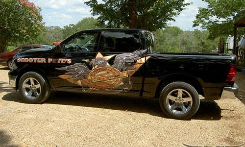 custom wraps truck