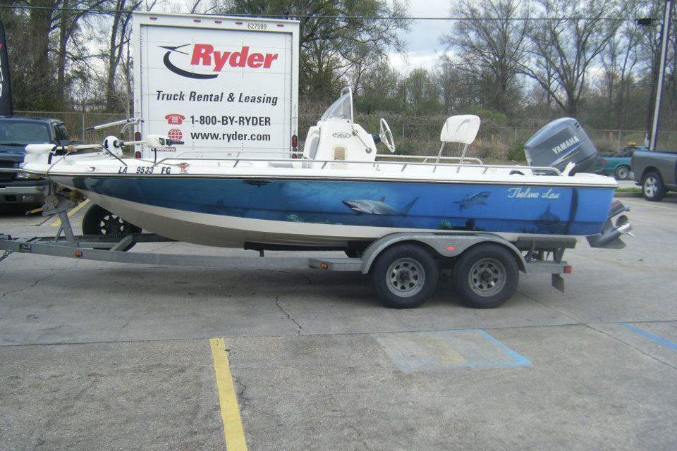 Vinyl Boat Graphics For Fishing Boats In Tyler TX Par Wraps - Custom vinyl decals boat