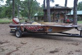 east texas fishing boat wrap