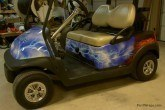 custom golf cart wrap