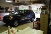 wrap install for company news fleet