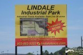 land sales sign outdoor promotion