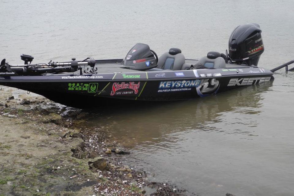 Photo gallery car truck boat wraps tyler tx par 3 wraps for Personal fishing boat