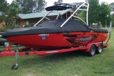 wakeboard boat wrap lake fork