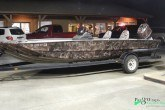 camouflage wrap and motor wrap for boat