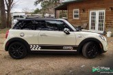 Mini Cooper Side Graphic door Par 3 Wraps