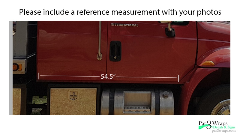 reference measurements
