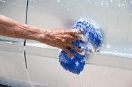 hand wash car vinyl