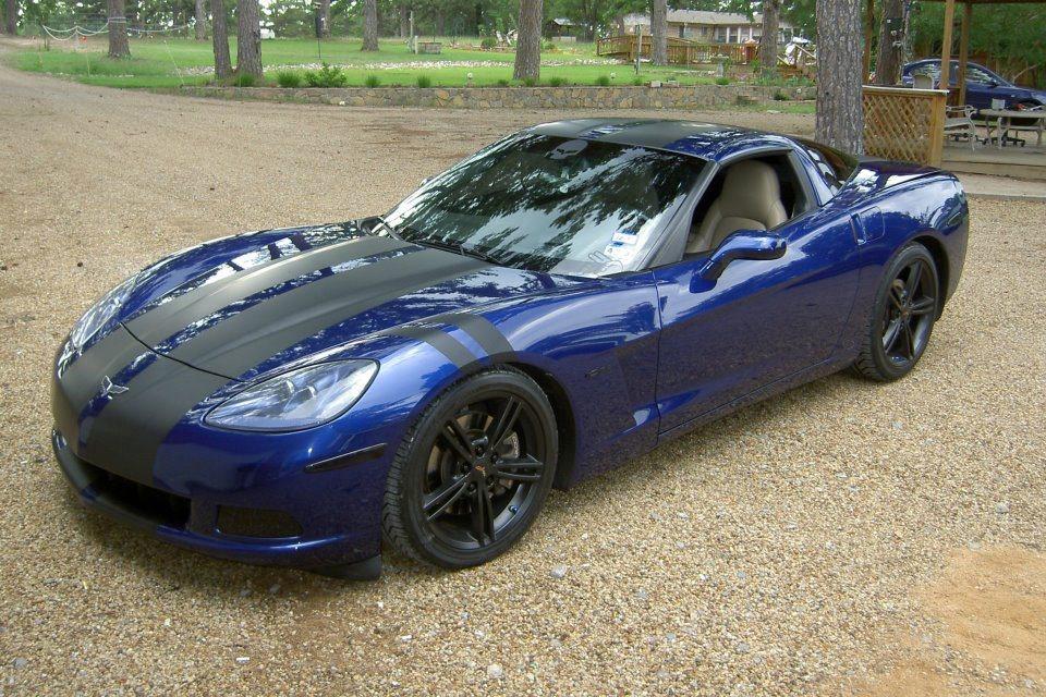 Corvette Racing Stripes Par 3 Wraps