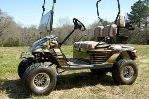 Golf Cart Wrap Vinyl Par 3 Wraps