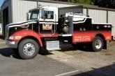 semi truck vehicle