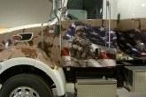 semi truck wrap