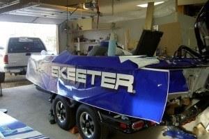 lindale vinyl boat wraps