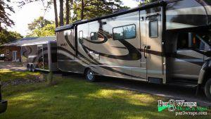 rv decals stripes trailer matching